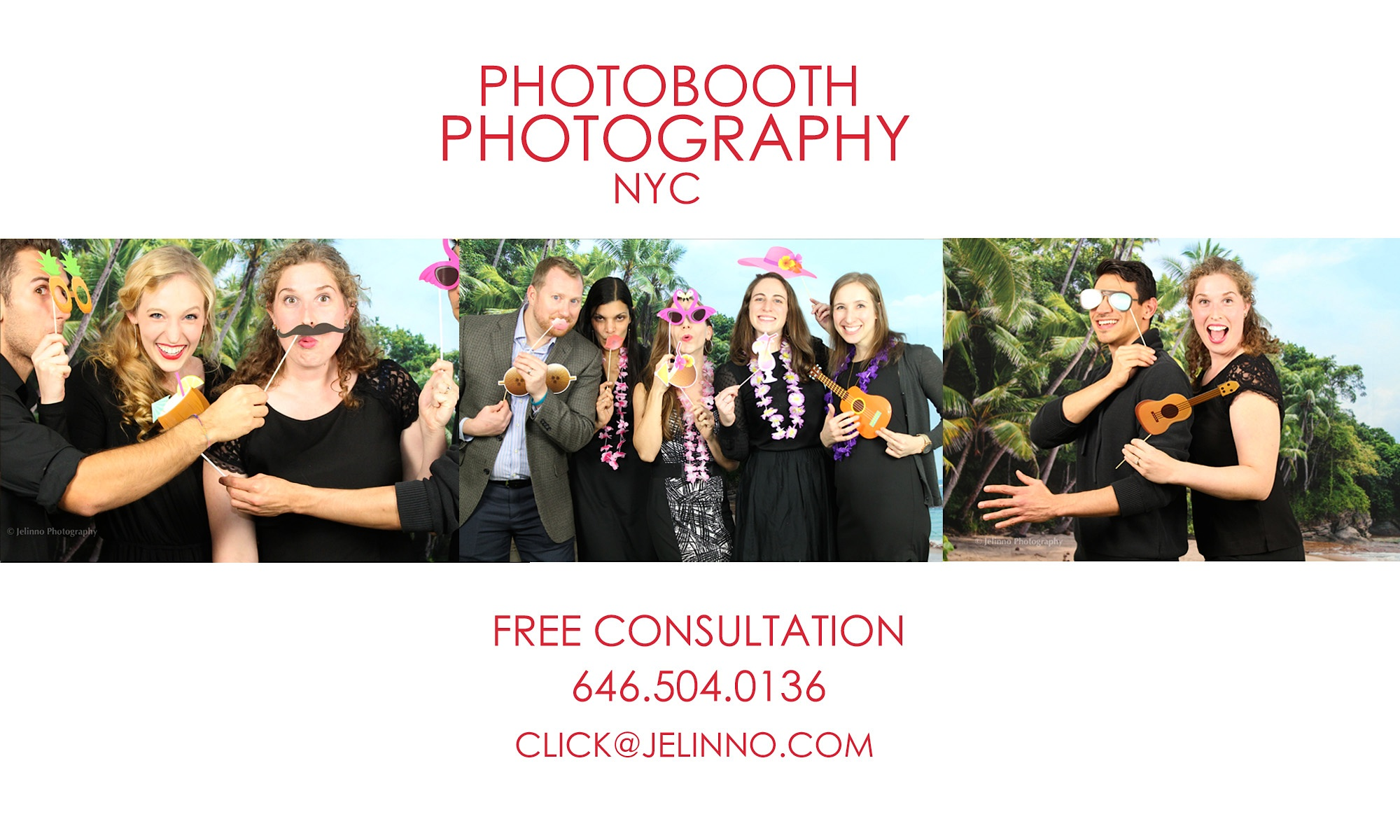 NYC Photo Booth Photography - Jelinno Photography