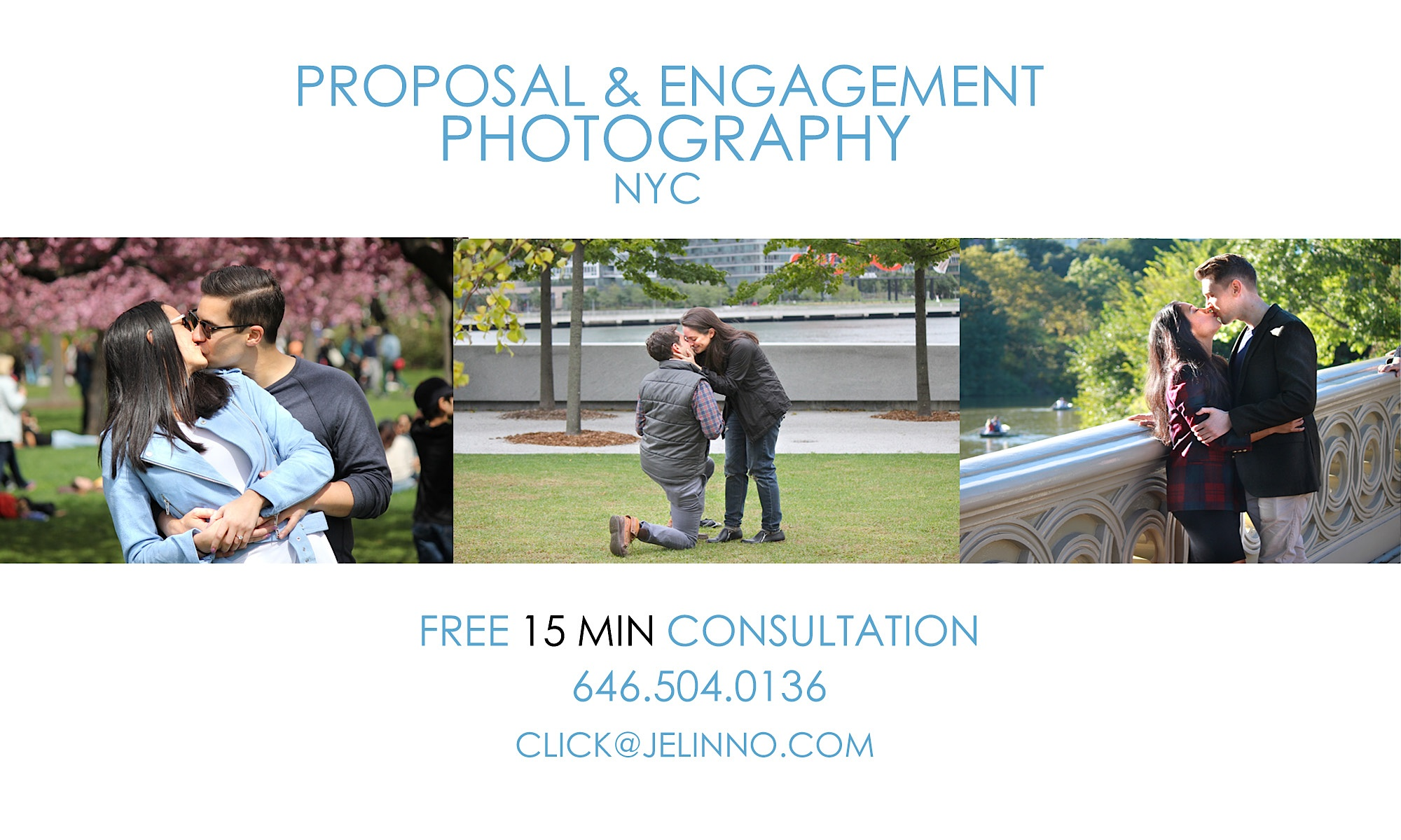 NYC Surprise Proposal Photographer, Engagement Photographer, Central Park